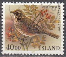 ICELAND    SCOTT NO. 643   USED     YEAR 1987 - 1944-... Republik