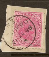 NZ 1882 1d SSF Pmk Taueru U #AMW251 - 1855-1907 Crown Colony