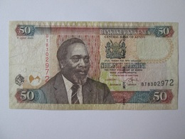 Kenya 50 Shillings/Shilingi 2005 Banknote - Kenya