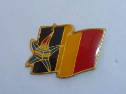 Pin's ALBERTVILLE, MASCOTTE BELGIQUE - Jeux Olympiques