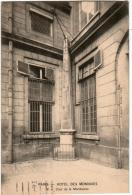 4PN 348 CPA PARIS - HOTEL DES MONNAIES  - COUR DE LA MERIDIENNE - France
