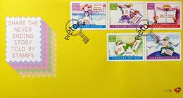 South Africa RSA 2006 First Day Cover FDC Having Fun With Stamps World Post Day 9/10/2006 SG 1616-1620 Mi 1731-1735 - Afrique Du Sud (1961-...)