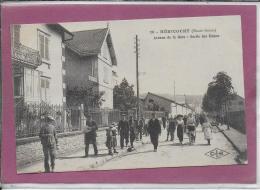 70.- HERICOURT .- Avenue De La Gare Sortie Des Usines - Other Municipalities