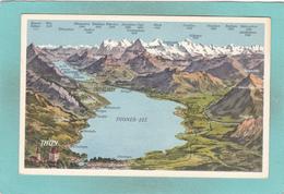 Old Postcard Of Thun,Thuner-See, Berne, Switzerland ,Y67. - BE Berne