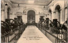 4PO 336 CPA - PARIS - HOTEL DES MONNAIES - SALLE DE MONNAYAGE - France