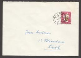 1948  Lettre Intérieure  Jeux D'hiver St Moritz Gardien De Hockey  Zum 27 - Briefe U. Dokumente