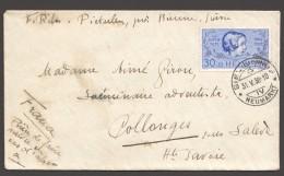 1938   25 Ans Pro Juventute 30Rp  Zum 84 Sur Lettre Pour La France - Pro Juventute