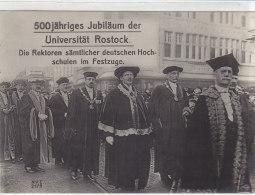 500jähriges Jubiläum Der Universität Rostock. Die Rektoren Sämtlicher Deutschen ...   N.V.E. 2179  -  Um 1920 - Rostock