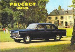 L'automobile Française, Série 2 - Peugeot 404, D'après Catalogue D'époque - Carte Non Circulée - Passenger Cars