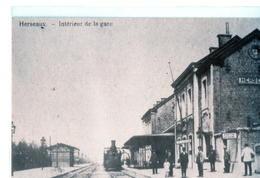 Hainaut : Herseaux (Mouscron). REPRODUCTION. - Moeskroen
