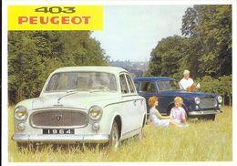 L'automobile Française, Série 2 - Peugeot 403, Collection Marie-Thérèse Botton - Voitures De Tourisme