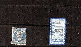NAPOLEON III - N° 22- GC4181 (Vibraye) - Marcophilie (Timbres Détachés)
