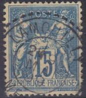 Lamouilly (Meuse) : Cachet Des Facteurs-boîtiers Sur Sage. - Marcophilie (Timbres Détachés)