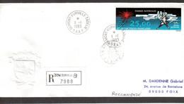 Vio1 - TAAF - PA78 Du 1.1.1983 TERRE ADELIE  Première Date Sur Enveloppe TAAF Par Gaufrage. Fermeture Verso Coupée. - Lettres & Documents