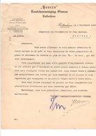 PAYS BAS COURRIER POUR ANNONAY (FRANCE) DE BAUERO à ROTTERDAM 1923 - Pays-Bas