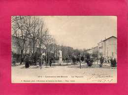 34 Hérault, Lamalou-les-Bains, Le Square, Animée, 1905, (J. Raynaud) - Lamalou Les Bains