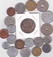 Lot De 20 Pièces De Monnaies Divers Voir Photo - AB06 - Coins & Banknotes