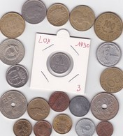 Lot De 20 Pièces De Monnaies Divers Voir Photo - AB13 - Vrac - Monnaies