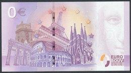 SLOVAKIA - 0,- € Red Rock Castle - Suvenier Banknote - EURO
