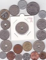 Lot De 20 Pièces De Monnaies Divers Voir Photo - AB07 - Monnaies & Billets