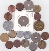 Lot De 20 Pièces De Monnaies Divers Voir Photo - AB05 - Vrac - Monnaies