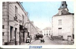 N°62997 -cpa Rivarennes -grande Rue- - France