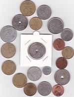 Lot De 20 Pièces De Monnaies Divers Voir Photo - AB04 - Vrac - Monnaies