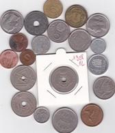 Lot De 20 Pièces De Monnaies Divers Voir Photo - AB02 - Monnaies & Billets