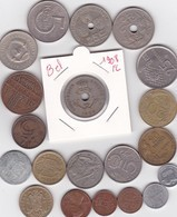 Lot De 20 Pièces De Monnaies Divers Voir Photo - AB15 - Vrac - Monnaies