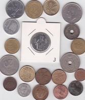 Lot De 20 Pièces De Monnaies Divers Voir Photo - AB12 - Vrac - Monnaies