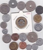 Lot De 20 Pièces De Monnaies Divers Voir Photo - AB11 - Monnaies & Billets