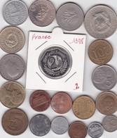 Lot De 20 Pièces De Monnaies Divers Voir Photo - AB10 - Vrac - Monnaies