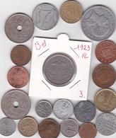 Lot De 20 Pièces De Monnaies Divers Voir Photo - AB09 - Monnaies & Billets