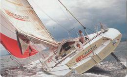 NUOVA-(Mint) -- 482- TELECOM ITALIA  SOLDINI  BARCA A VELA - Barche