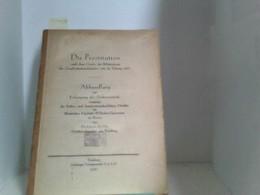 Die Prostitution, Nach Dem Gesetz Zur Bekämpfung Der Geschlechtkrankheit Vom 18. Februar 1927 - Bücher, Zeitschriften, Comics