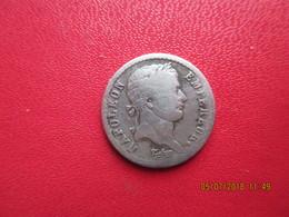 Demi-franc Napoléon Ier Tête Laurée, République Française, 1808 H, B - Francia