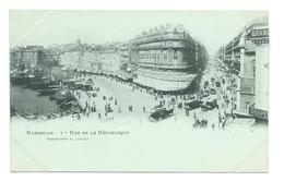 13/ BOUCHES Du RHONE...MARSEILLE. Rue De La République - Marseille