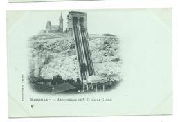 13/ BOUCHES Du RHONE...MARSEILLE. Ascenseurs De Notre Dame De La Garde - Notre-Dame De La Garde, Ascenseur
