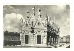 POSTAL PISA S. MARIA DELLA SPINA  AÑOS 50 - Iglesias Y Catedrales