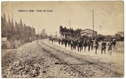 BDR 13 MIRAMAS Gare Sortie Des Usines 1918 - Other Municipalities