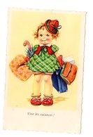 Vive Les Vacance, Petite Fille Bagages MD Paris N° 630 Scans Recto/verso - Illustrateurs & Photographes