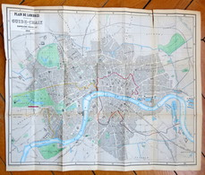 Plan De Londres 1851 - Planches & Plans Techniques