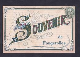Souvenir De Fougerolles (70) ( Paillettes Brillants ) - Other Municipalities