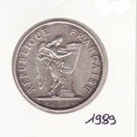 100 Frs 1989 Droits De L'homme Argent - France