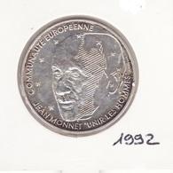 100 Frs 1992 Jean Monnet Argent - France