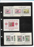 B5     Afghanistan     Verzameling Blokken   MNH    TOP - Afghanistan
