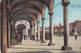 ITALIE . LIVORNO. Loggiato E Piazza V. Emanuele - Livorno