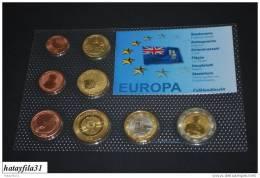 Falklandinseln 2008 Euro - Proben Satz - Falkland Islands