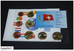 SCHWEIZ  2003 - Euro Proben Satz - Schweiz