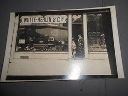 D . 62 - Arras Mutte - Herlin Carte Photos Magasin De Pianos Instrument De Musique - Arras